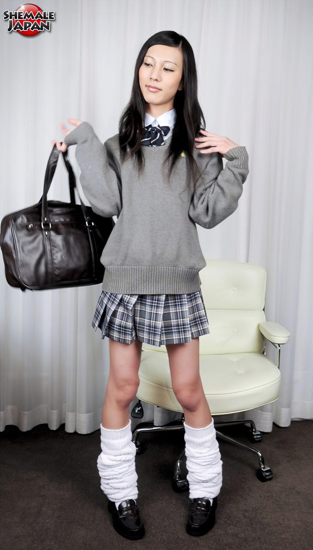 Travesti Estudante Japonesa (1)