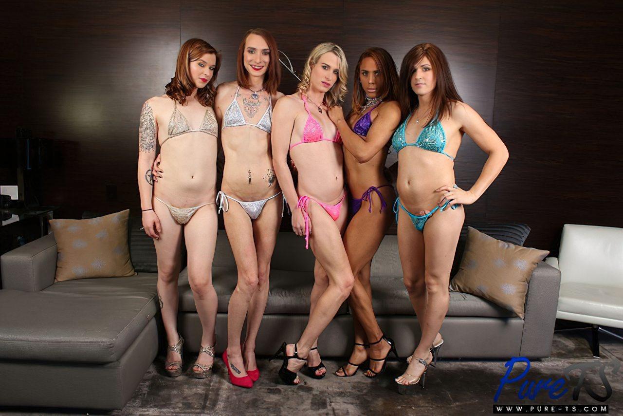 Cinco Travestis Sem Calcinha (4)
