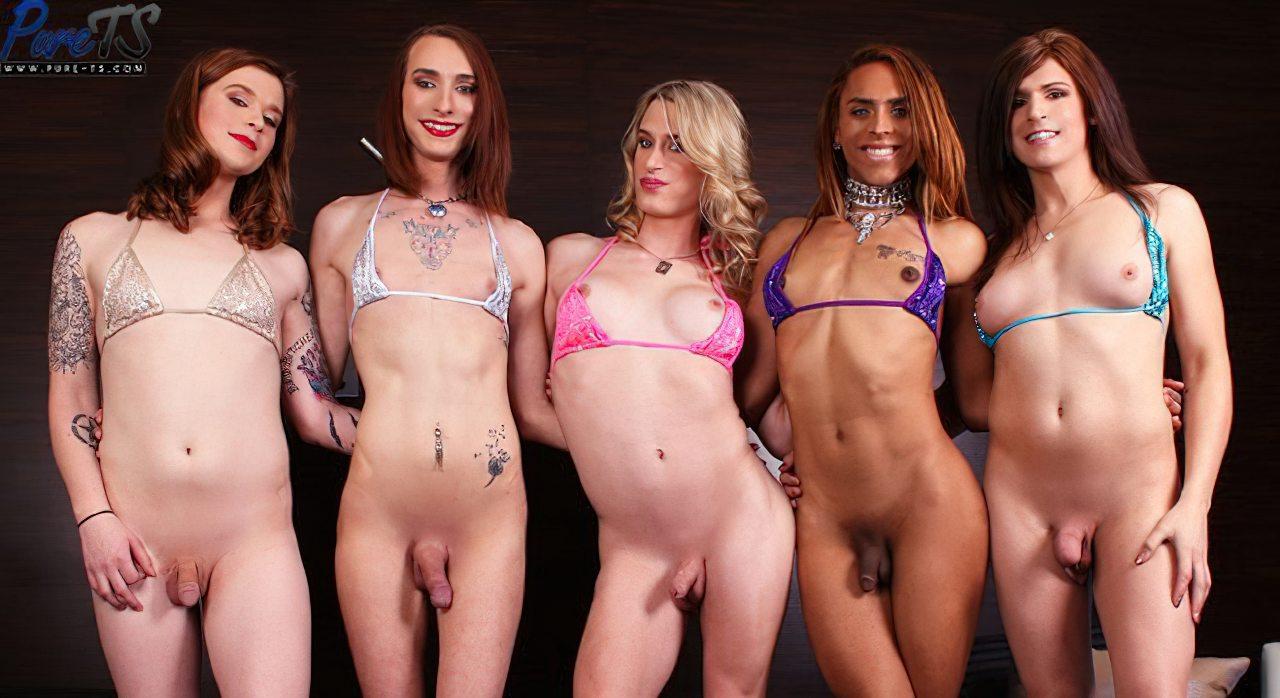 Cinco Travestis Sem Calcinha (5)