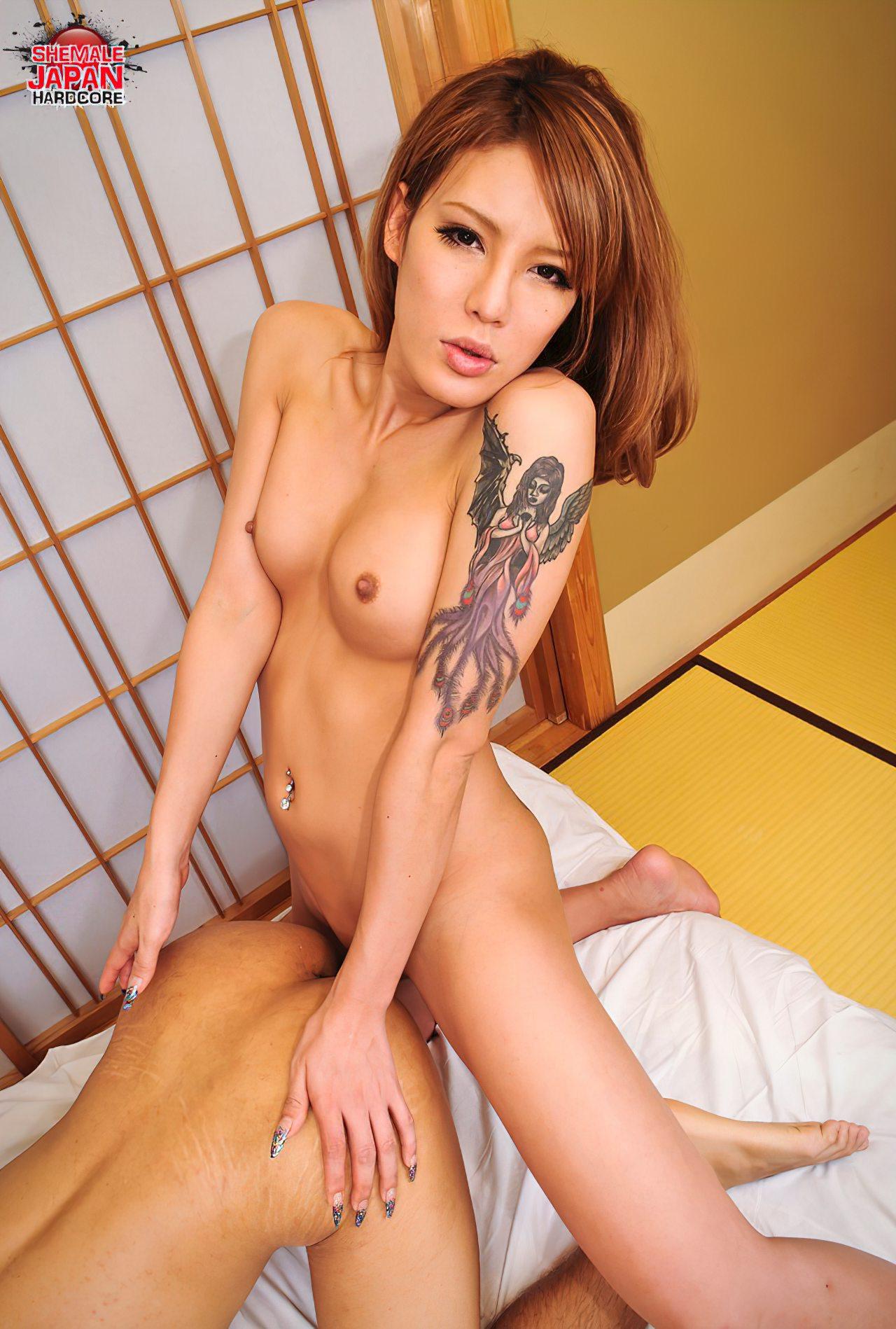 Tarde Intima com Travesti Japonesa (9)